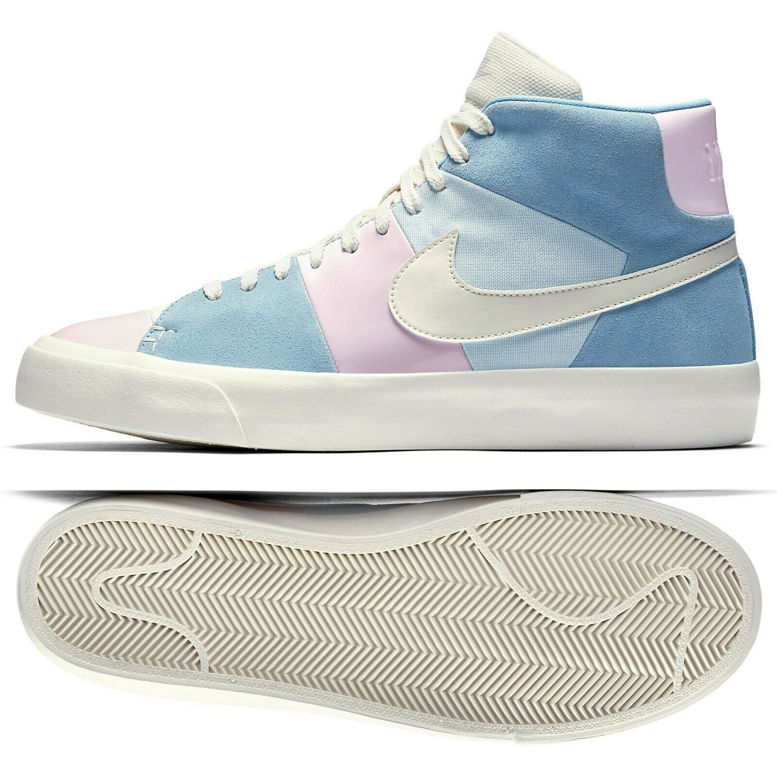 Nike Blazer Royal Easter QS AO2368-600 Arctic Pink Leche bluee Ice bluee Men shoes