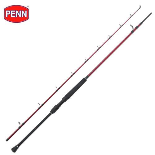 New PENN Rampage II Mk2 Boat Fishing Rod 7/'4/' 2pc Equal Sections 50lb Class