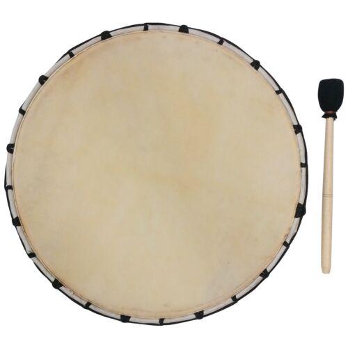 Kein Sound nur Deko 30cm Rahmentrommel Trommel Apache Drum Djembe Weiß B Ware