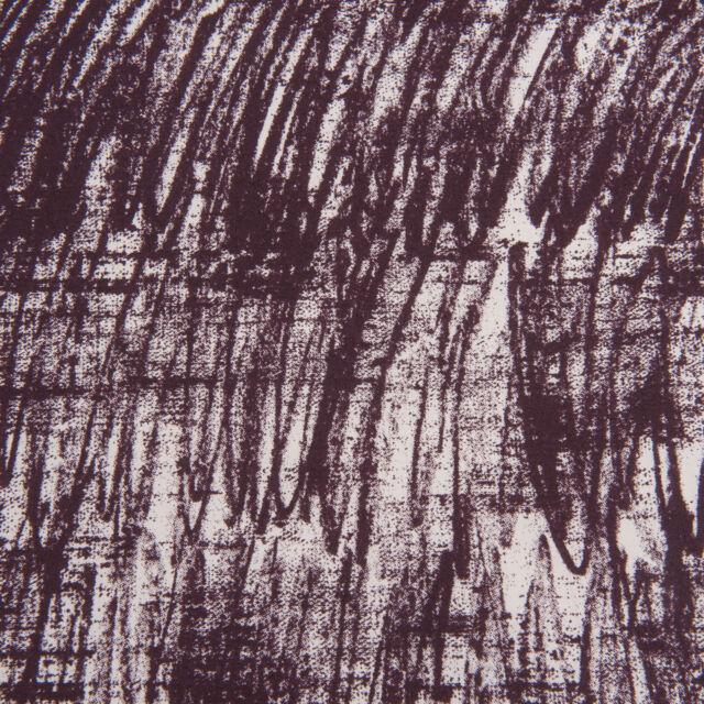 Vorhang deko STOFF Baumwolle METERWARE ab 1 m NEU Bettwäsche druck dunkel rot