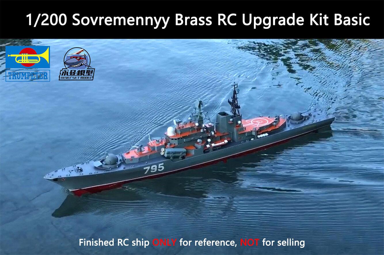 Trumpeter 1 200 Sovremennyy Class Destroyer Brass RC Upgrade Kit Basic