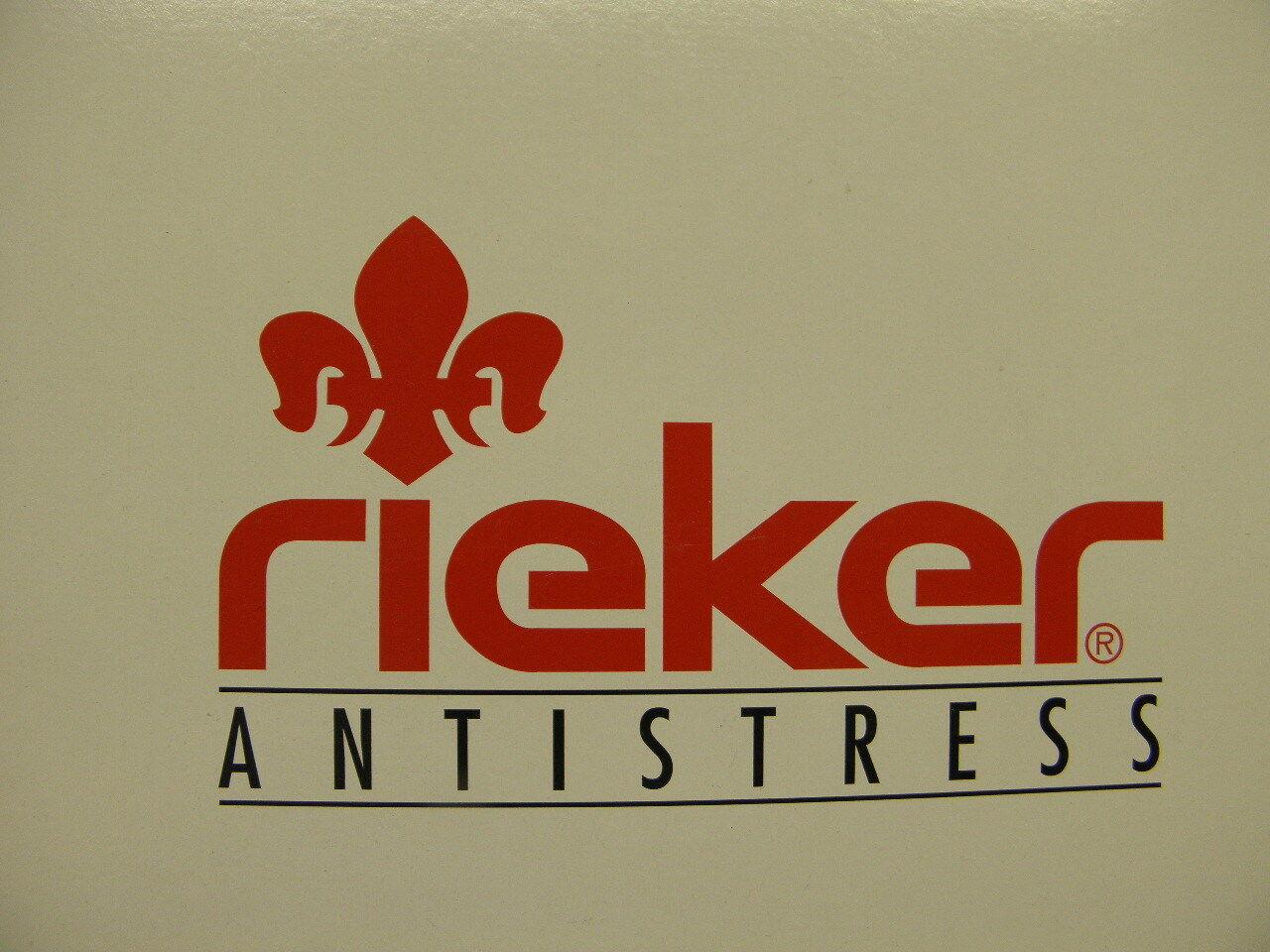 rieker ® SALE reduziert  Clog  Pantolette schwarz gratis Premium - Socken (R444)