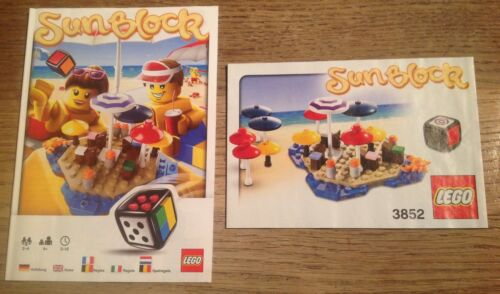 BOXED COMPLETE LEGO GAME SET 3852 SUNBLOCK