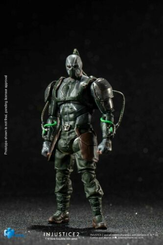 HiYa Toys INJUSTICE 2 Bane 1//18th Soldier Action Mini Figure Toy LD0064  Gift