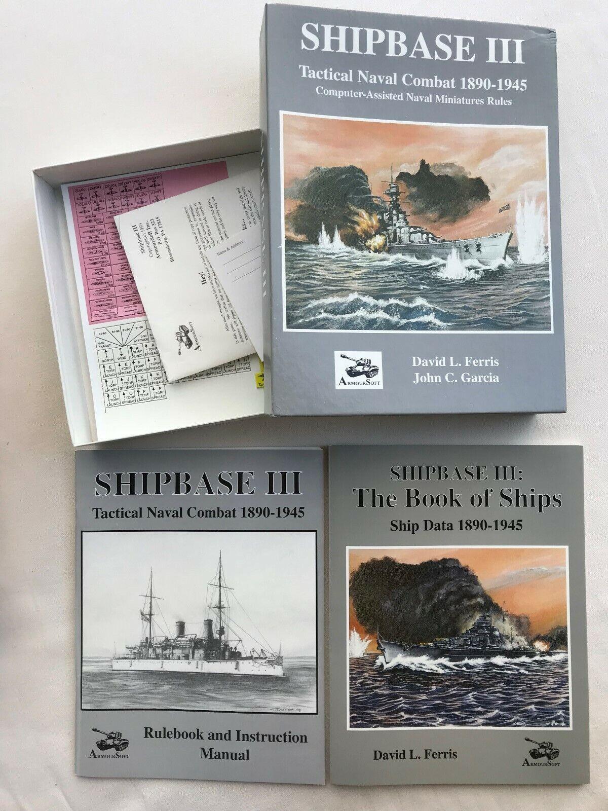 Guerra marítima táctica táctica táctica III, con ayuda de computadora. 23c