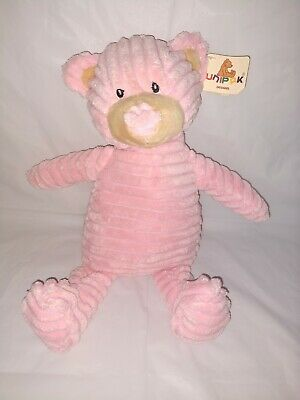 Teddy Bear Stuffed Toy, Pink Plush Corduroy 12 Kordy Bear By Unipak Baby Toy Stuffed Animal With Tag Ebay