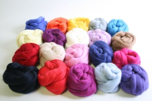 MultiPack Wool TopRovingSliver 19.5 micron
