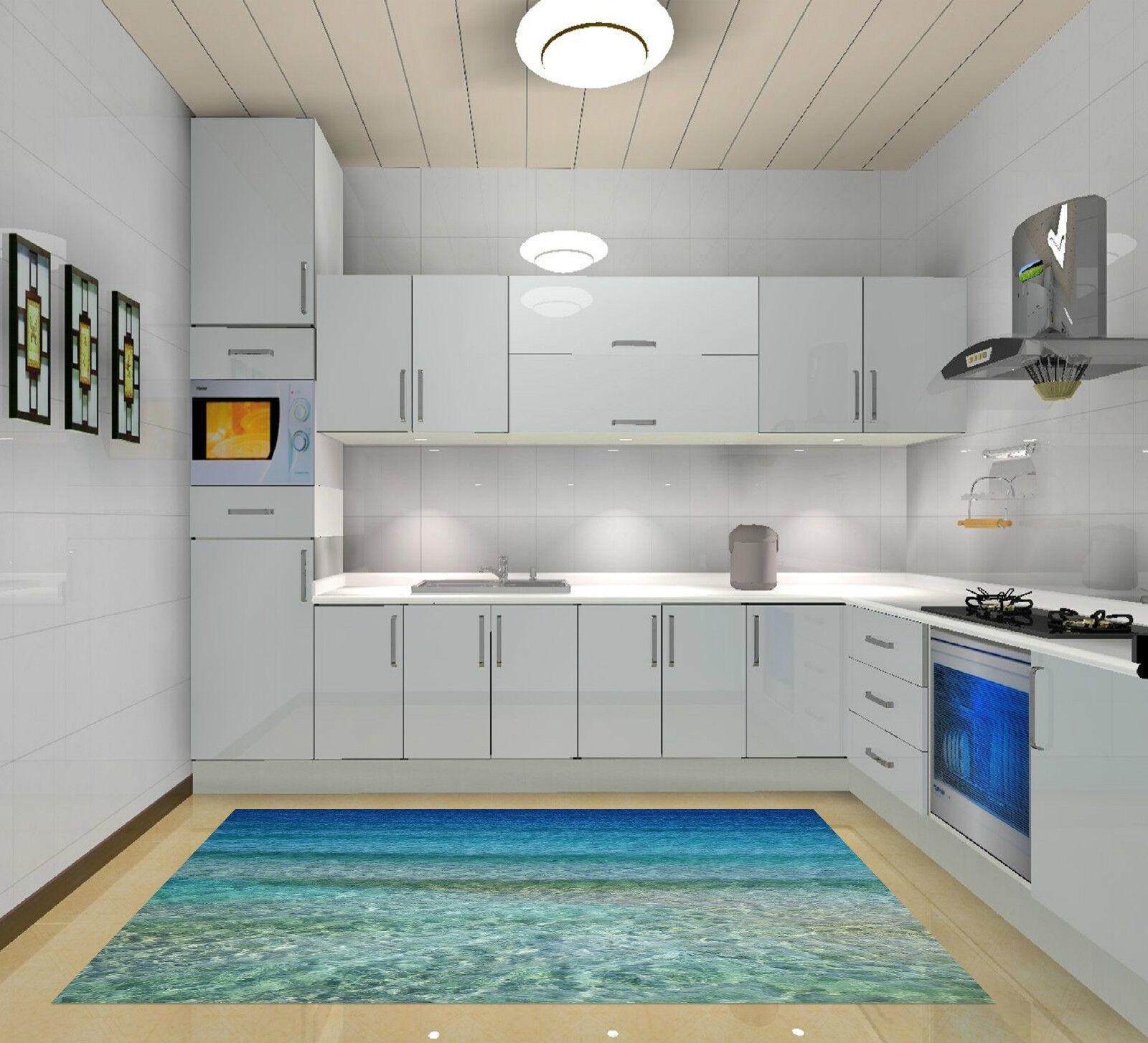 3D Shiny Sea 112 Kitchen Mat Floor Murals Wall Print Wall Deco AJ WALLPAPER CA