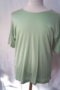Damen-Shirt-T-Shirt-XXL-Mode-Gr-46-gruen-Neu-mit-Etikett-Paoletta-Collection