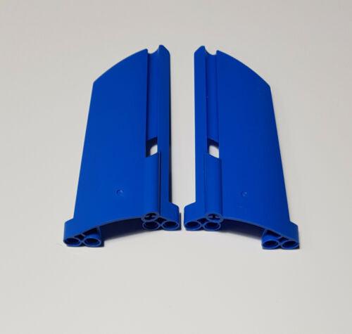 21 2x lego Technic panel 44350 44351 alas 20+21 azul técnica 20