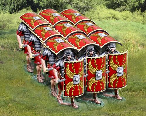 Action- & Spielfiguren Die Sammler Schaufenster Romes 43AD CS00916 Roman in Anmarsch Vorne Testudo MB