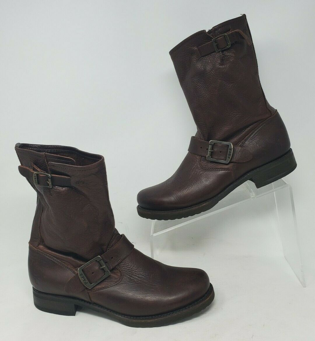 Womens Frye Veronica Boots Size 8 B Brown