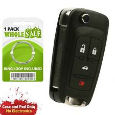 Replacement For 2010 2011 2012 2013 Chevrolet Cruze Key Fob Shell Case Fits 2012 Chevrolet Cruze Lt