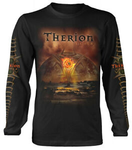 Therion-039-Sirius-B-039-Black-Long-Sleeve-Shirt-NEW-amp-OFFICIAL