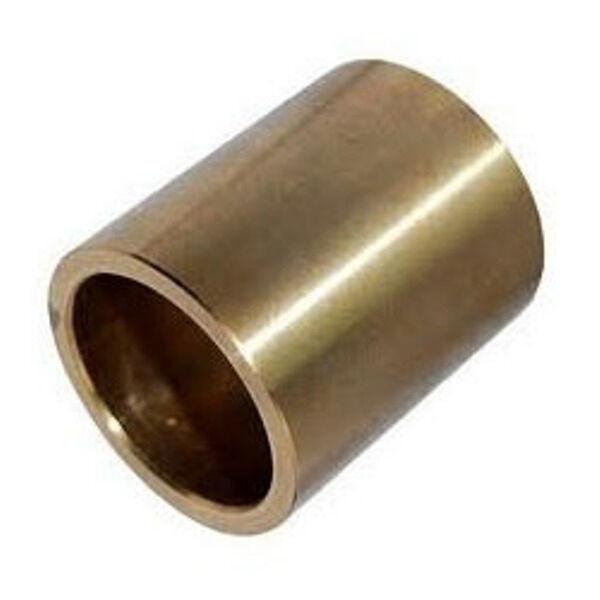 Messing Buchsen 50mm Lang- Bohrung Durchmesser 10mm 35mm 21mm