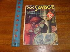 SPANISH DOC SAVAGE PULP, 1940, la muerte vestida de plata