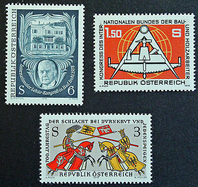 Dedicated Austria Stamp Packing Of Nominated Brand Yvert And N Tellier°1407 Et 1409 N Stamp Austria cyn5