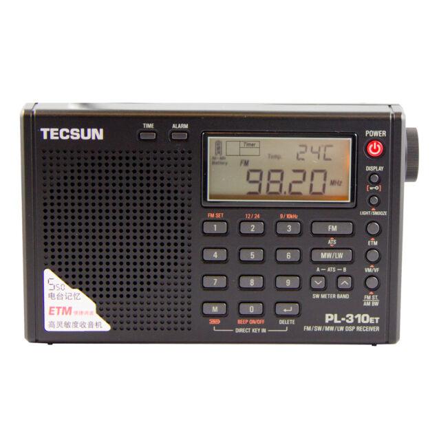 TECSUN PL-310ET PLL DSP Multi Band Radio   << X-MAS OFFER FEDEX SHIPMENT >>