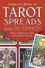 COMPLETE BOOK OF TAROT SPREADS ( - JOHANNES FIEBIG EVELIN BURGER (PAPERBACK) NEW