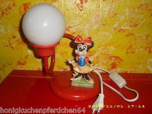 Details zu Minnie Maus Mouse Figur Leuchte - Kinderlampe - Lampe - Walt  Disney Productions