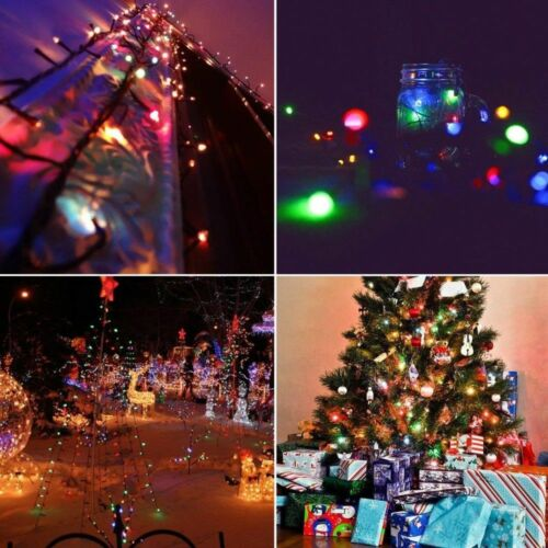 20//50//100 LED Fairy String Light Battery//USB Micro Rice Wire Party Xmas Decor Bs