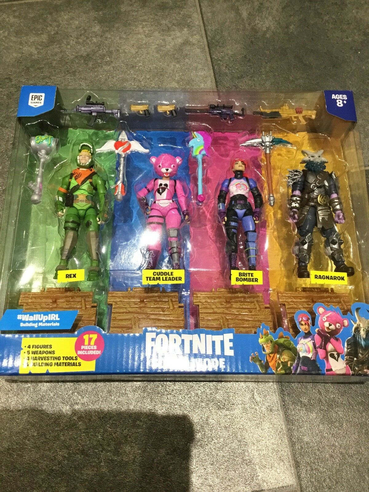 Fortnite Squad Mode  Action Figures NEW