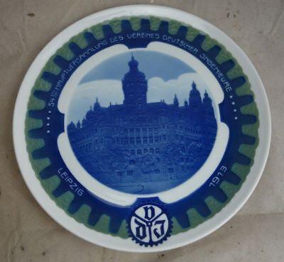 Alter Porzellan Teller Rosenthal 1913 Verein Deutscher Ingenieure #1 Im In- Und Ausland FüR Exquisite Verarbeitung, Gekonntes Stricken Und Elegantes Design BerüHmt Zu Sein