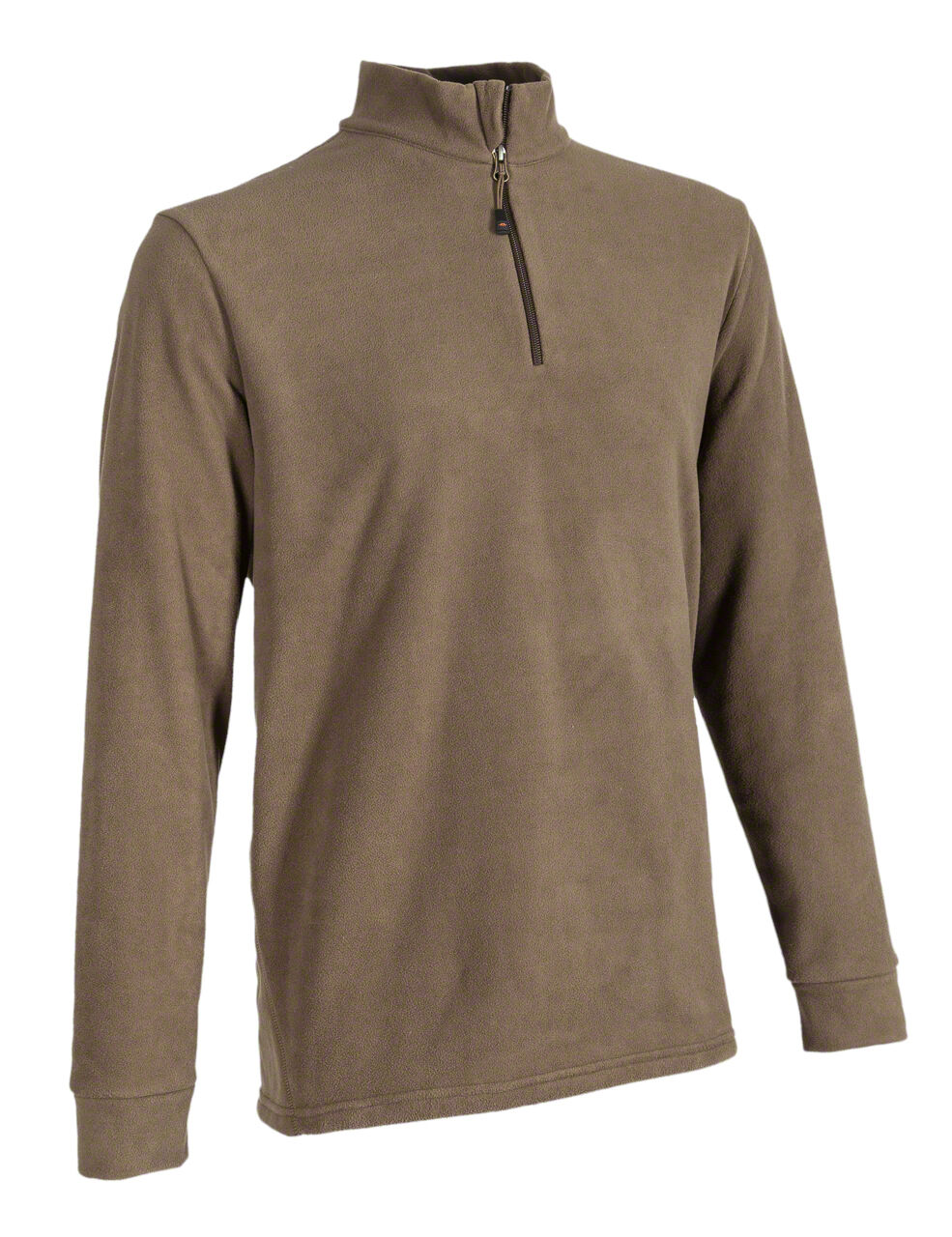 Blaser Fleece-Troyer BASIC - dunkel-olivbrown - Nr. 113006-112