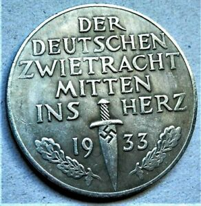 WW2-GERMAN-COMMEMORATIVE-COLLECTORS-COIN-1933