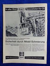 Mobil Mobiloil Special - Werbeanzeige Reklame Advertisement 1965 __ (167