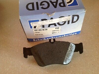 NEW PAGID FRONT DISC BRAKE PAD 0024209620P For MERCEDES BENZ E300 1996-1997