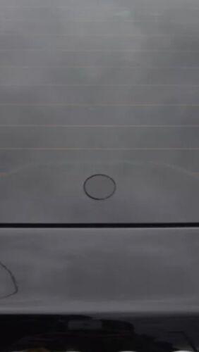 2//8 encastré verre effet de essuie-glace noir brillant bonde Oeillet Volvo V50