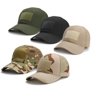 Multicam-Baseball-Cap-Operators-Hat-Airsoft-Army-Military-Camo-Camouflage-Cap