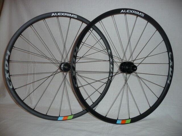 Alex CXD4 lightweight disc wheels. Now with XD and 15mm options