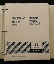1992 1996 Original New Holland 7530 Tractor Parts Catalog Manual Perfect Shape