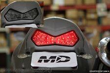 2003-2006 Kawasaki Z1000 03-04 Ninja ZX6R SEQUENTIAL Signal LED Tail Light SMOKE
