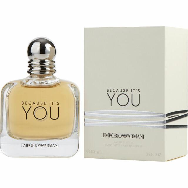 Emporio Armani Because Its You Eau De Parfum 100ml 100 Genuine For