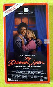 My Demon Lover ~ New VHS Movie ~ 1987 Scott Valentine ...