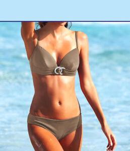 Heine NEU!! KP 59,90 € /%SALE/% Cup B Bikini mit Bügel Weiß
