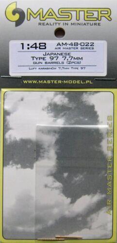 Master 1//48 Japanese Type 97 7.7 mm GUN barils # 48022