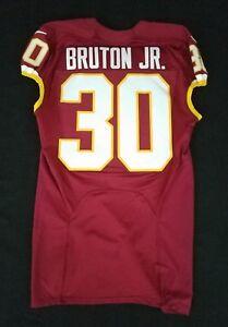 Details about #30 David Bruton Jr. of Washington Redskins NFL Locker Room Game Issued Jersey