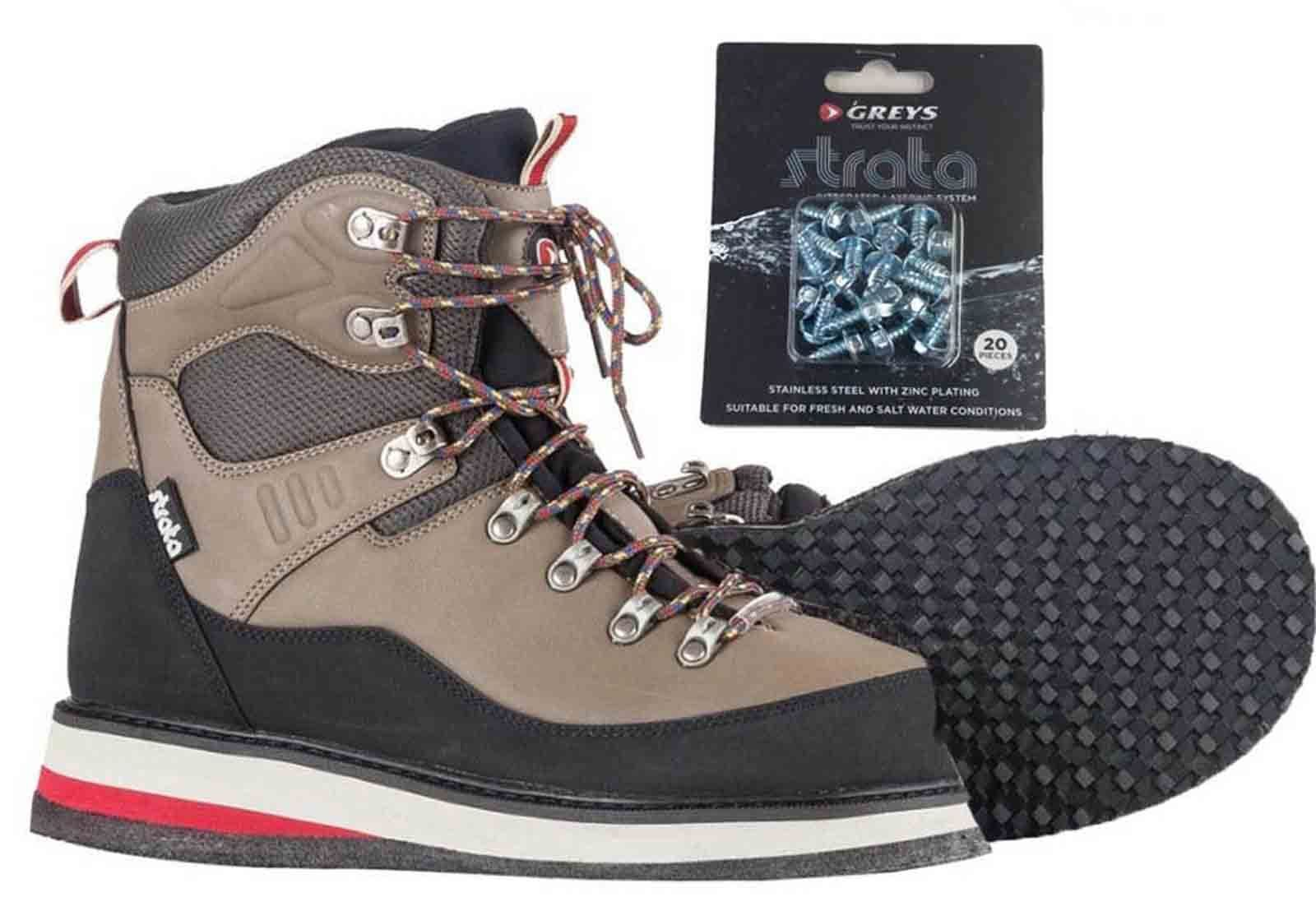Greys Strata CTX Rubber Sole Durable Wading Fishing