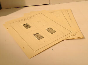 Scott US National Newspaper and Periodical Stamp pgs PR1-130 +blanks NOS Wow! 8