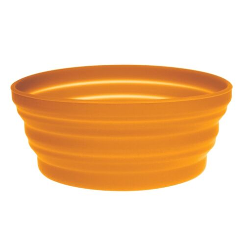 Ultimate Survival Technologies FlexWare Bowl 1.0 Orange Collapsible Silicone