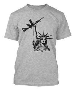 Image is loading Statue-Of-Liberty-AR-15-2nd-Amendment-Rights- 93dae3e49
