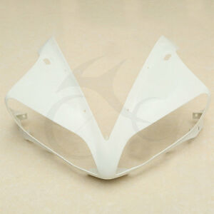 Upper-Front-Cowl-Fairings-Nose-Head-For-YAMAHA-YZF-R1-YZF-R1-04-06-05-Unpainted