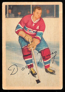 timeless design 2781a 0292a 1953 54 PARKHURST #26 DOUG HARVEY VG MONTREAL CANADIENS ...
