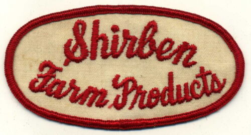 Shirben Farm Products Patch