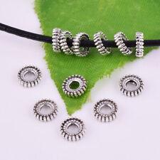 Hot Metal Tibetan silver Spacer Loose Beads Jewelry Findings DIY 3.5mm XZ033