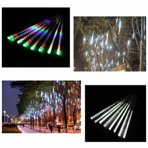 3A-Power-Meteor-Shower-Rain-Light-Tube-Connectabe-6M-Extension-Cable-For-Xmas